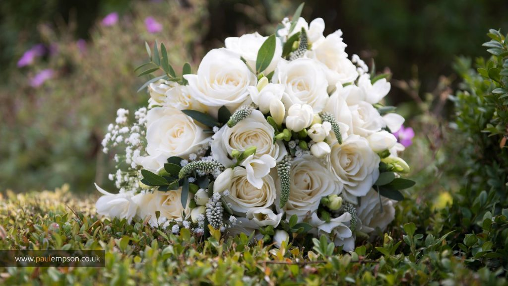 Wedding flowers The brides bouquet