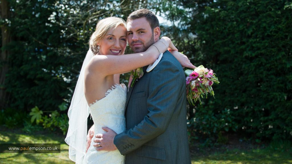 Another happy couple celebrate their wedding at The Treebridge