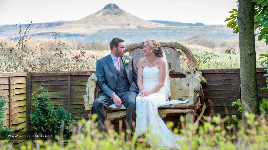 Wedding photos roseberry topping